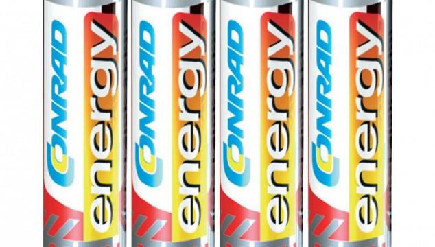 NiZn batterijen met 1.6V